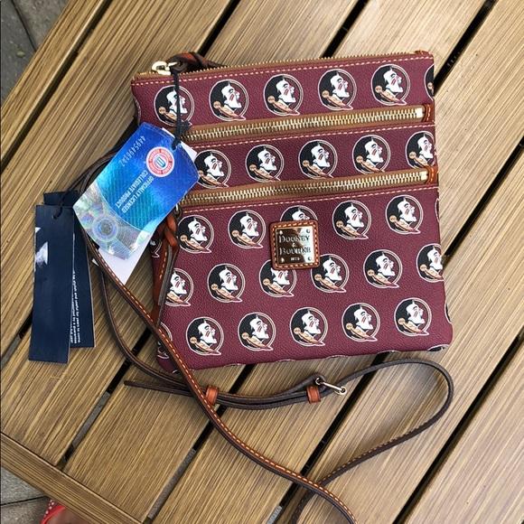 Dooney & Bourke Handbags - FSU Dooney & Bourke Crossbody